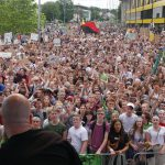 Fridays for Future Demonstration in Aachen