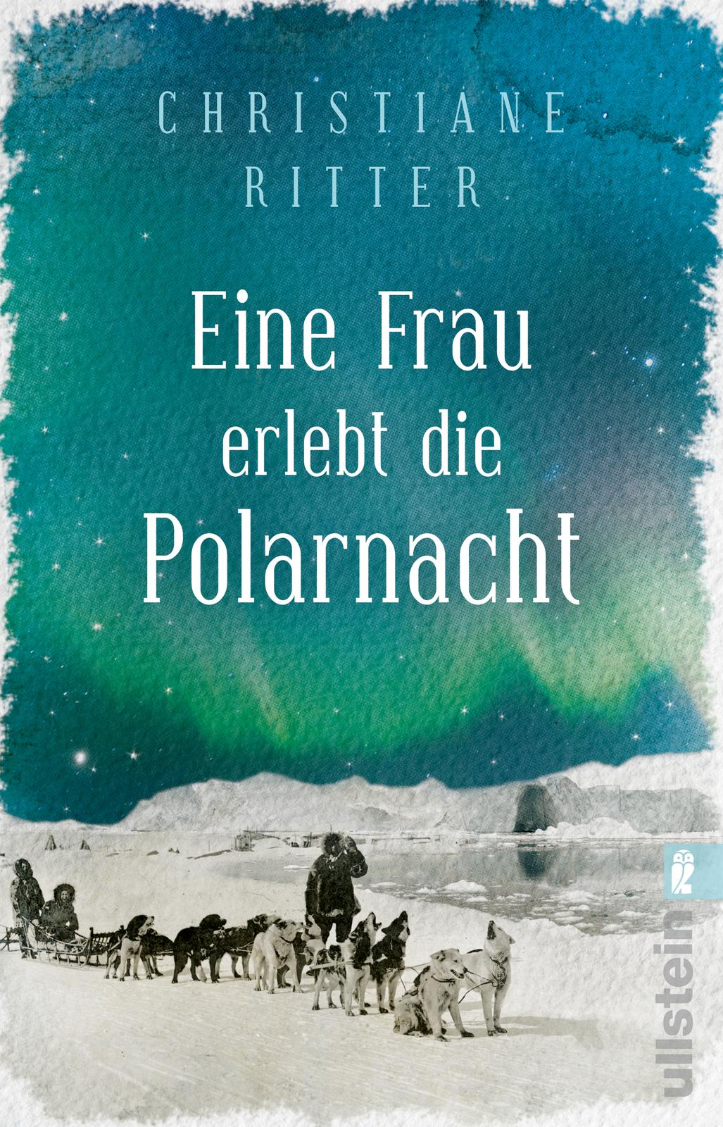 """Buchcover """"Eine Frau erlebt die Polarnacht"""""""