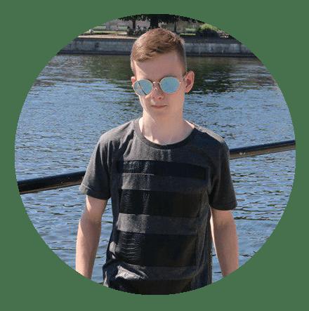 "Aaron Schröder, Redakteur bei ""Der Jungreporter"""