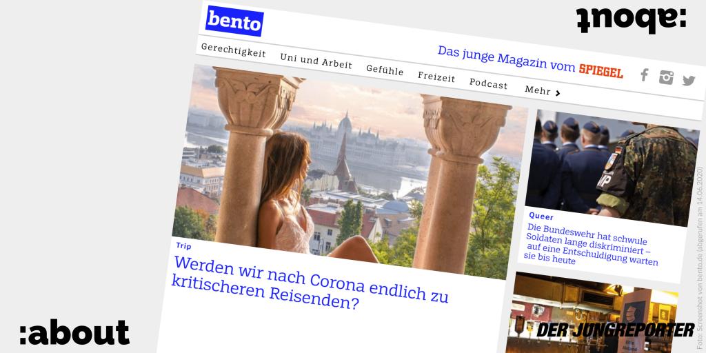 Screenshot von bento.de