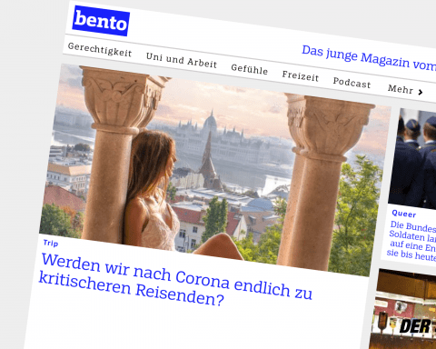 Screenshot von bento.de