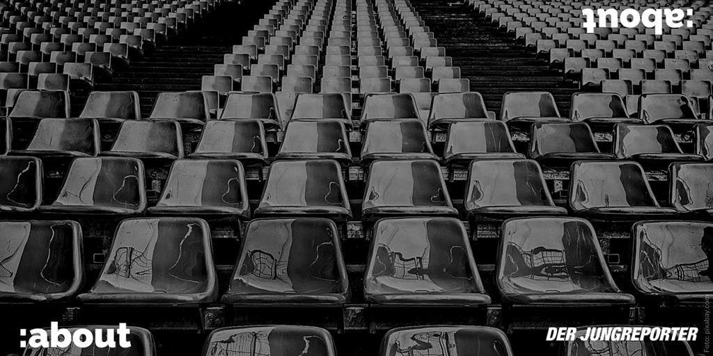 leere Sitzplätze ien Fußballstadien