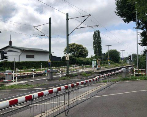 Bahnhof Herrath, Mönchengladbach, Nordrhein-Westfalen