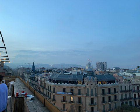 Barcelona von oben - Foto: Ann-Sophie Conrad
