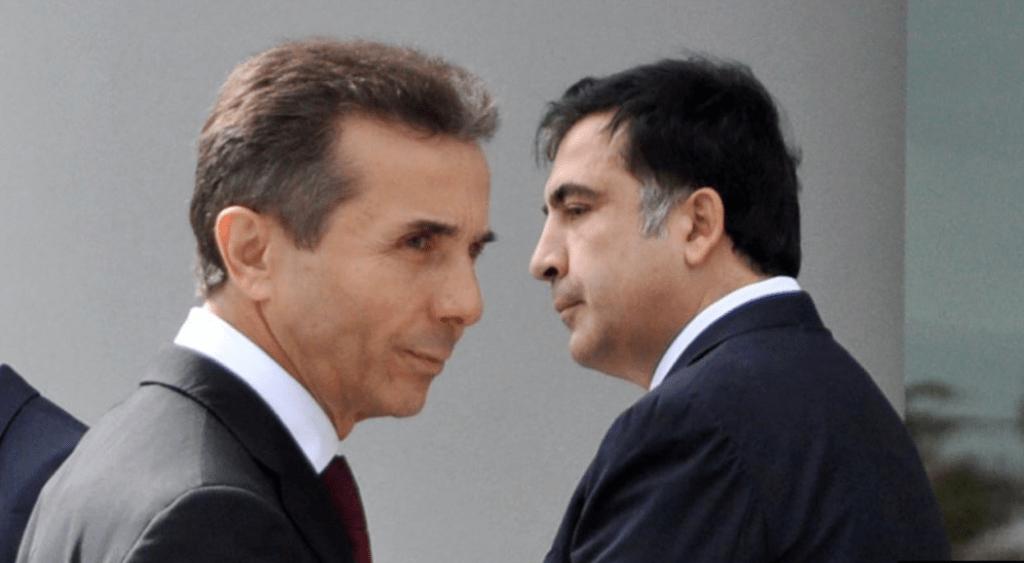 Politische Rivalen: Bidsina Iwanischwili und Michail Saakschwili