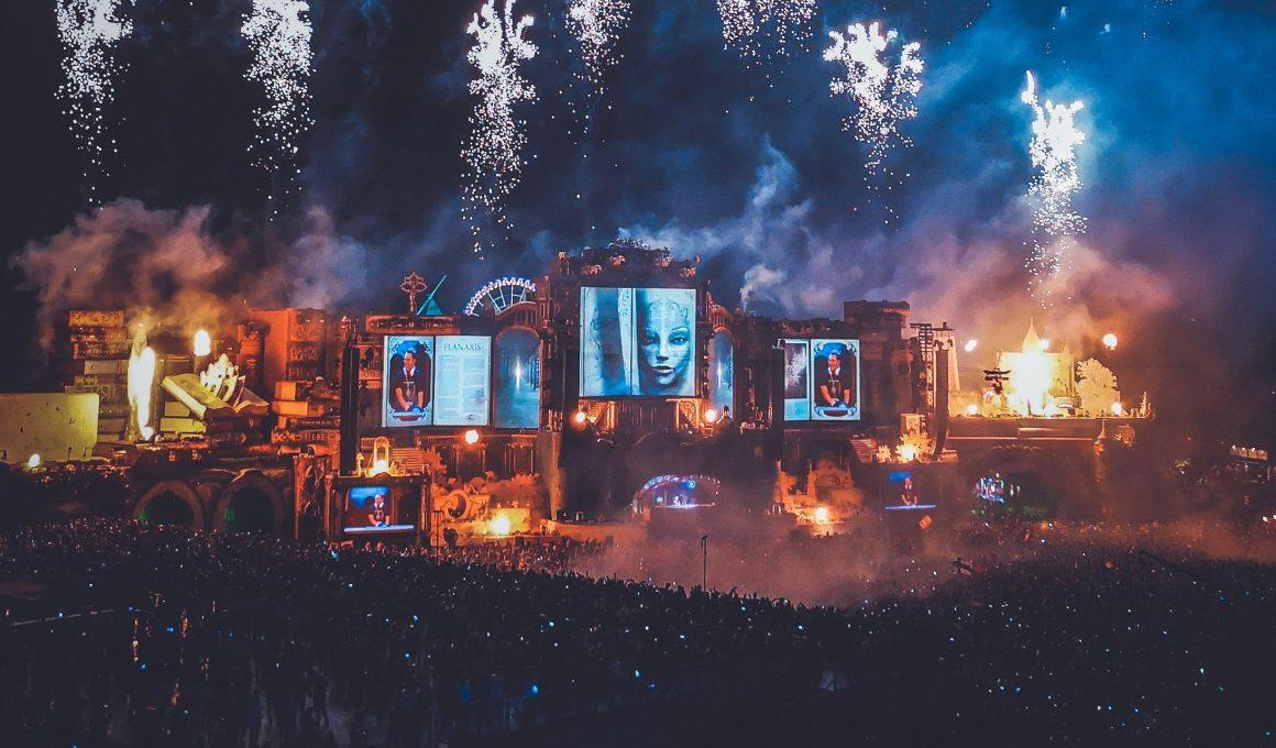 Festival Tomorrowland in Belgien