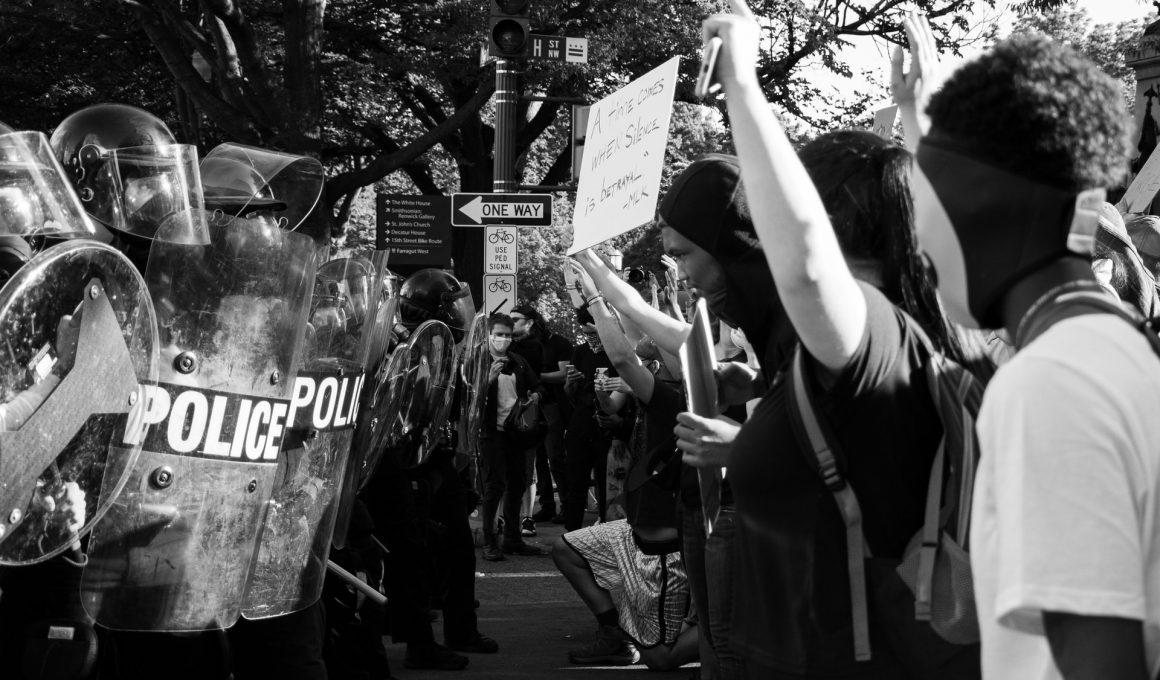 Demonstranten in Washington