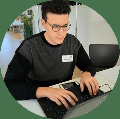 """Fabius Leibrock, Redakteur bei """"Der Jungreporter"""""""