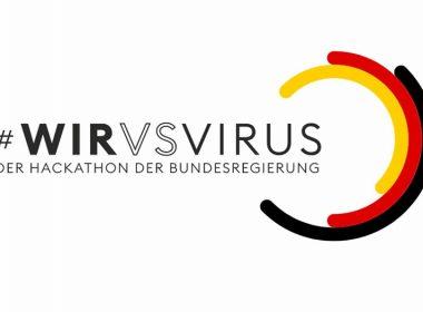 """Logo von """"#WirVsVirus"""""""