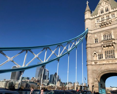 Tower Bridge in London, Foto: Frieda Krukenkamp