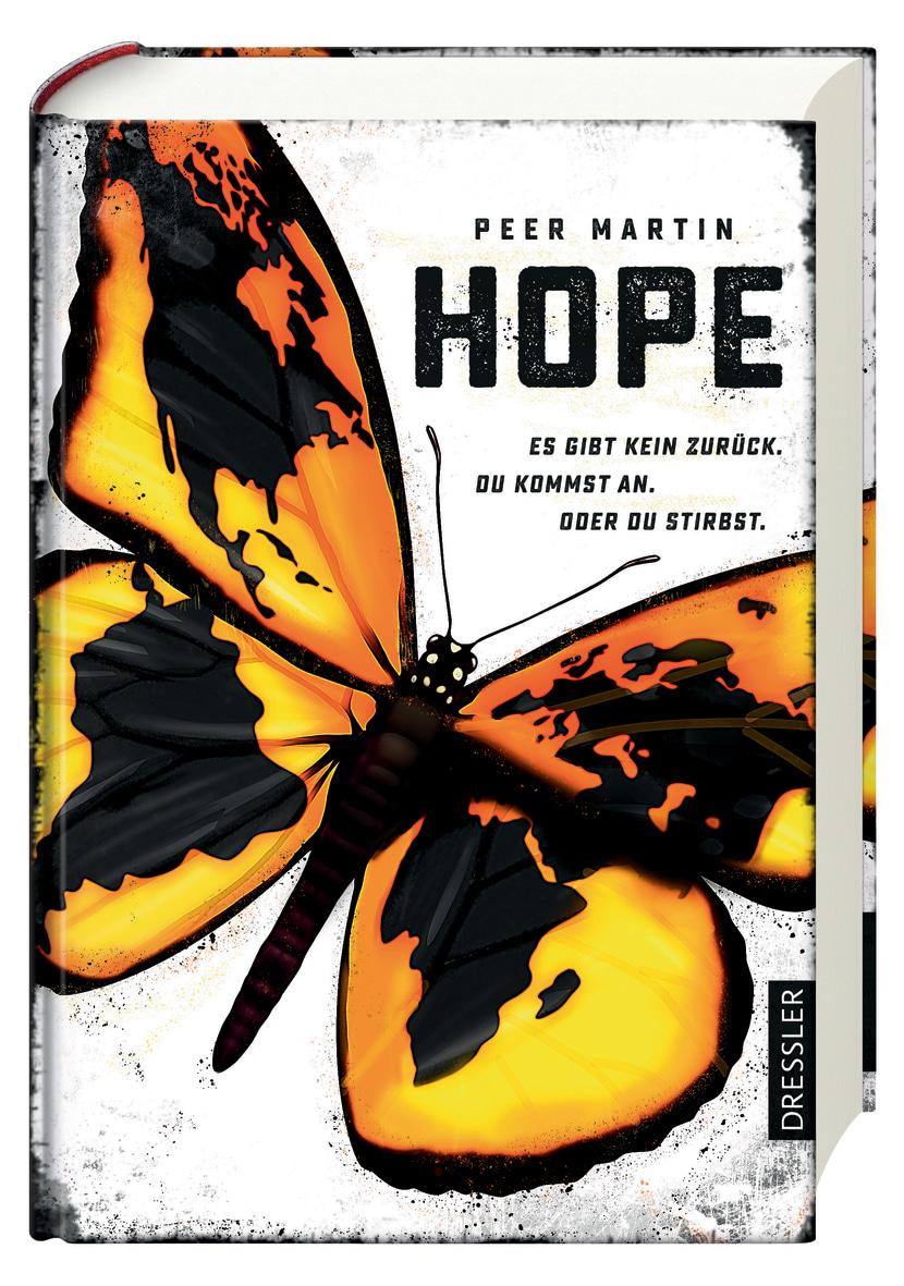 """Cover des Buchs """"HOPE"""" von Peer Martin"""