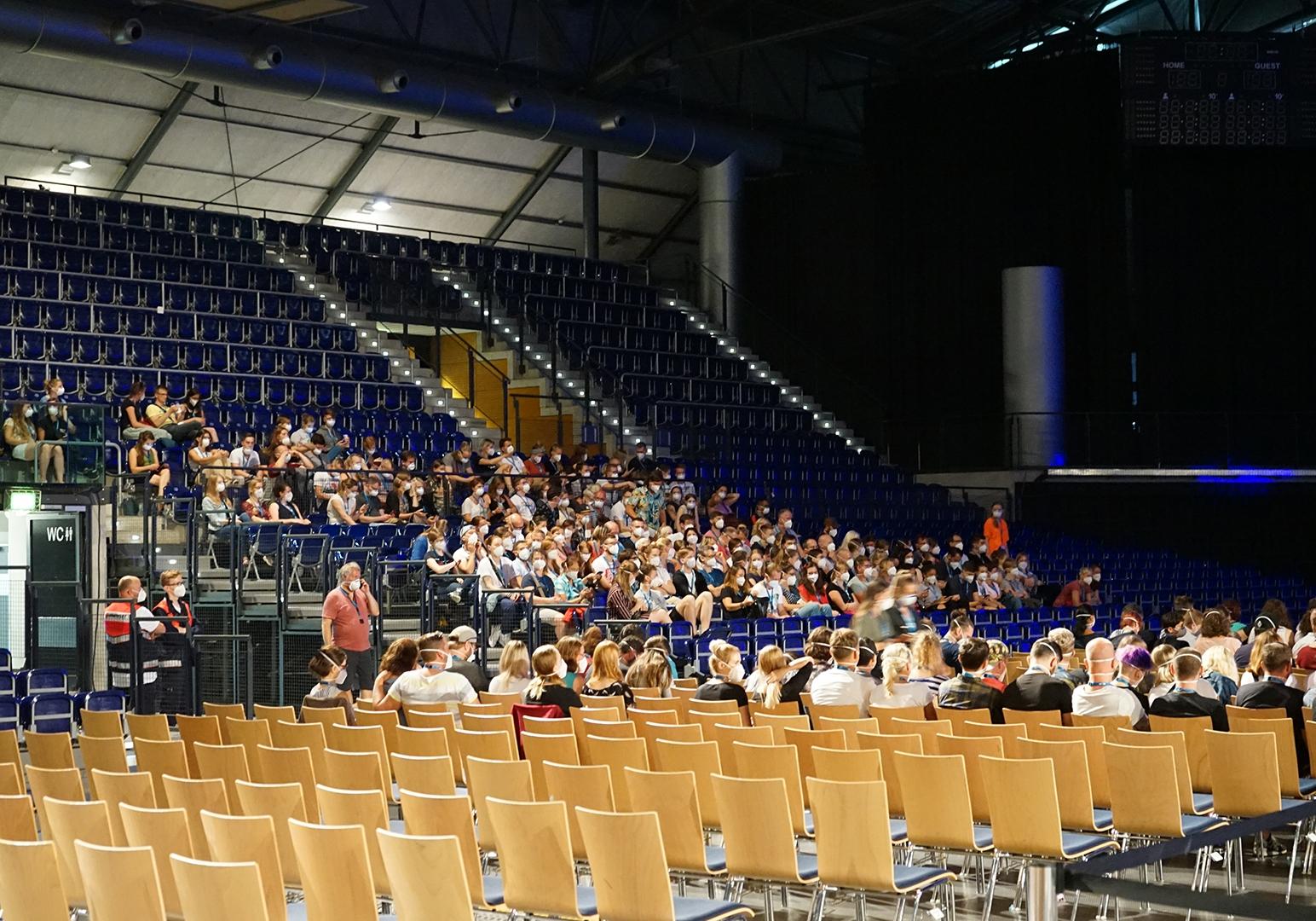 """Konzertsimulation """"Restart-19"""" am 22.08.2020 in Leipzig, Foto: Fabius Leibrock"""