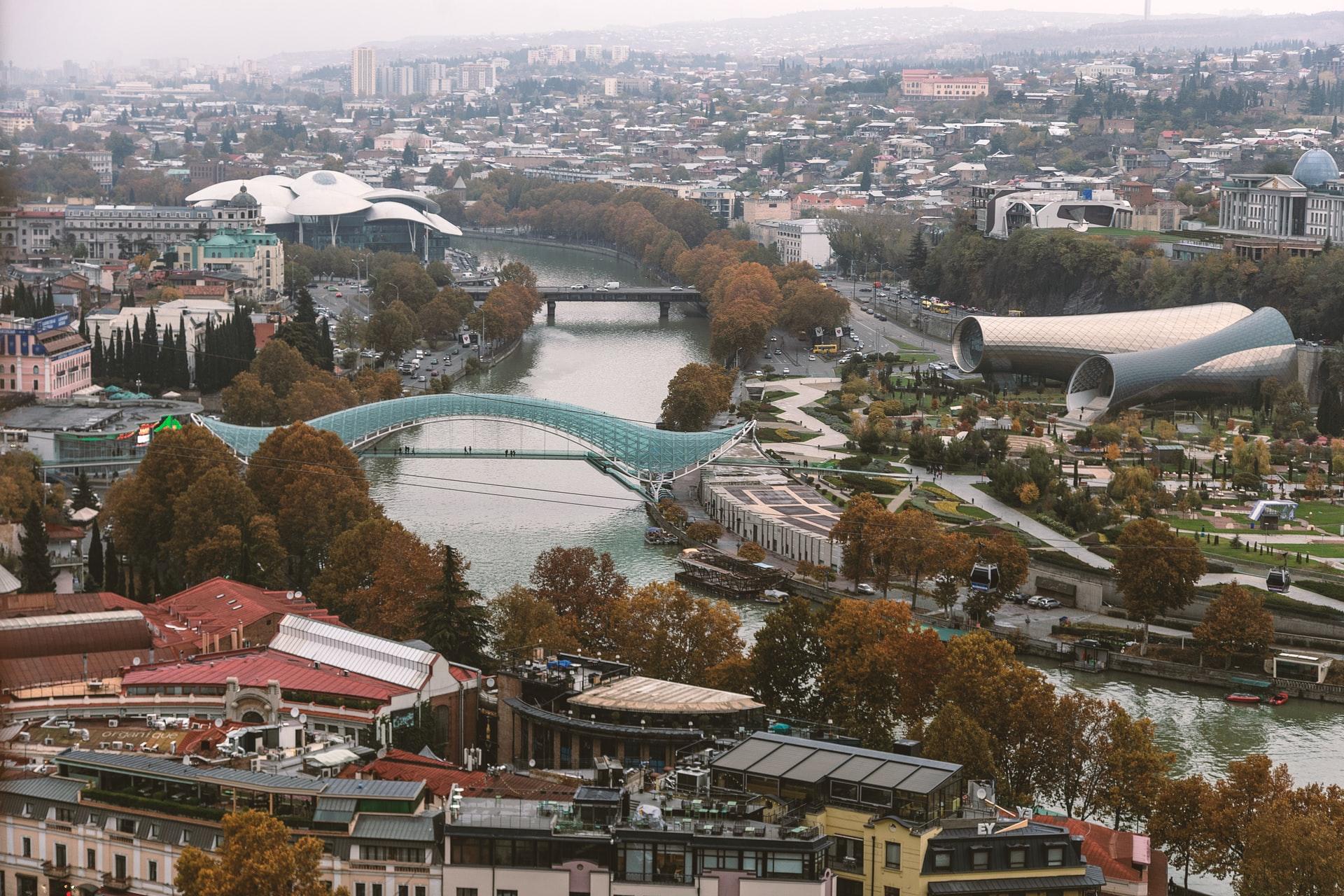 Übersicht über Tbilissi
