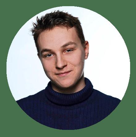 "Tom Konjer, Redakteur bei ""Der Jungreporter"""