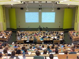 Hörsaal in einer Universität